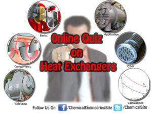 Heat Exchangers Quiz