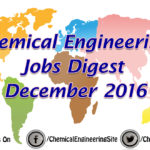 Chemical Engineering Jobs Digest December 2016
