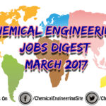 Chemical Engineering Jobs Digest March 2017