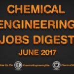 Chemical Engineering Jobs Digest June 2017