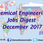 Chemical Engineering Jobs Digest December 2017