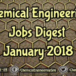 Chemical Engineering Jobs Digest January 2018
