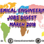 Chemical Engineering Jobs Digest March 2018