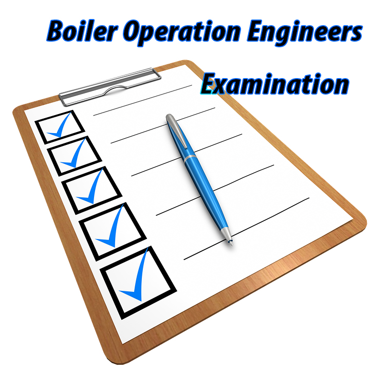 Boiler Operation Engineers Exam