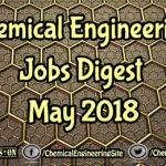 Chemical Engineering Jobs Digest May 2018