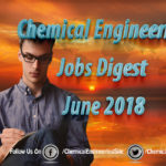 Chemical Engineering Jobs Digest June 2018