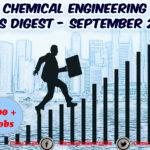 Chemical Engineering Jobs Digest September 2018