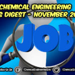 Chemical Engineering Jobs Digest November 2018